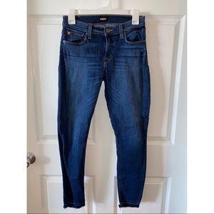 hudson natalie jean - straight leg skinny fit